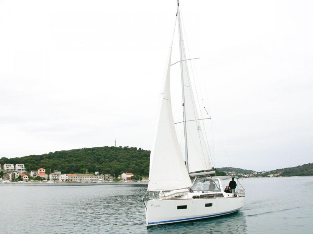 Boat rental Rogoznica cheap Oceanis 38