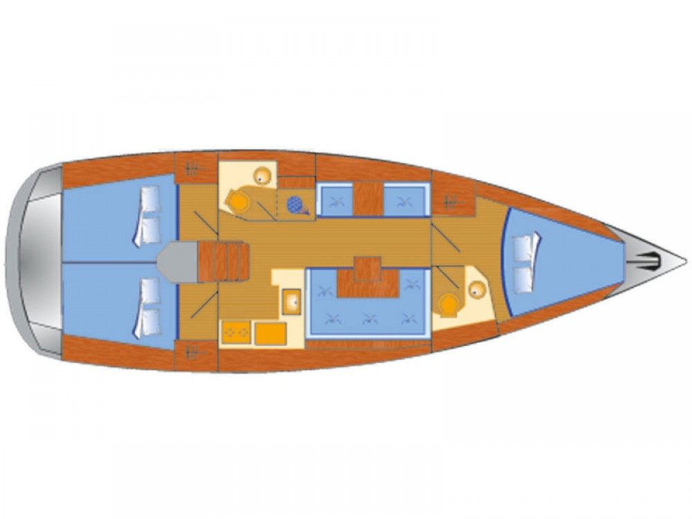 Sailboat for rent Pola at the best price