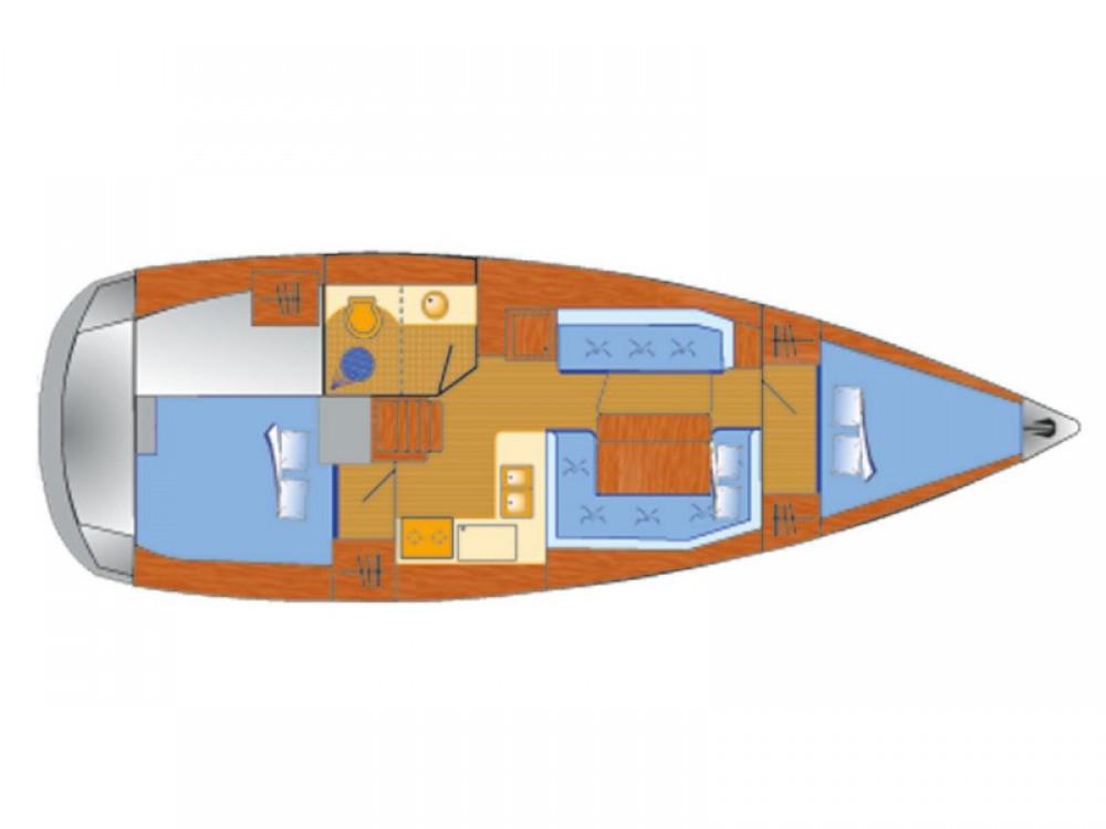 Rental yacht Krk - Jeanneau Sun Odyssey 389 - 2 cab. on SamBoat