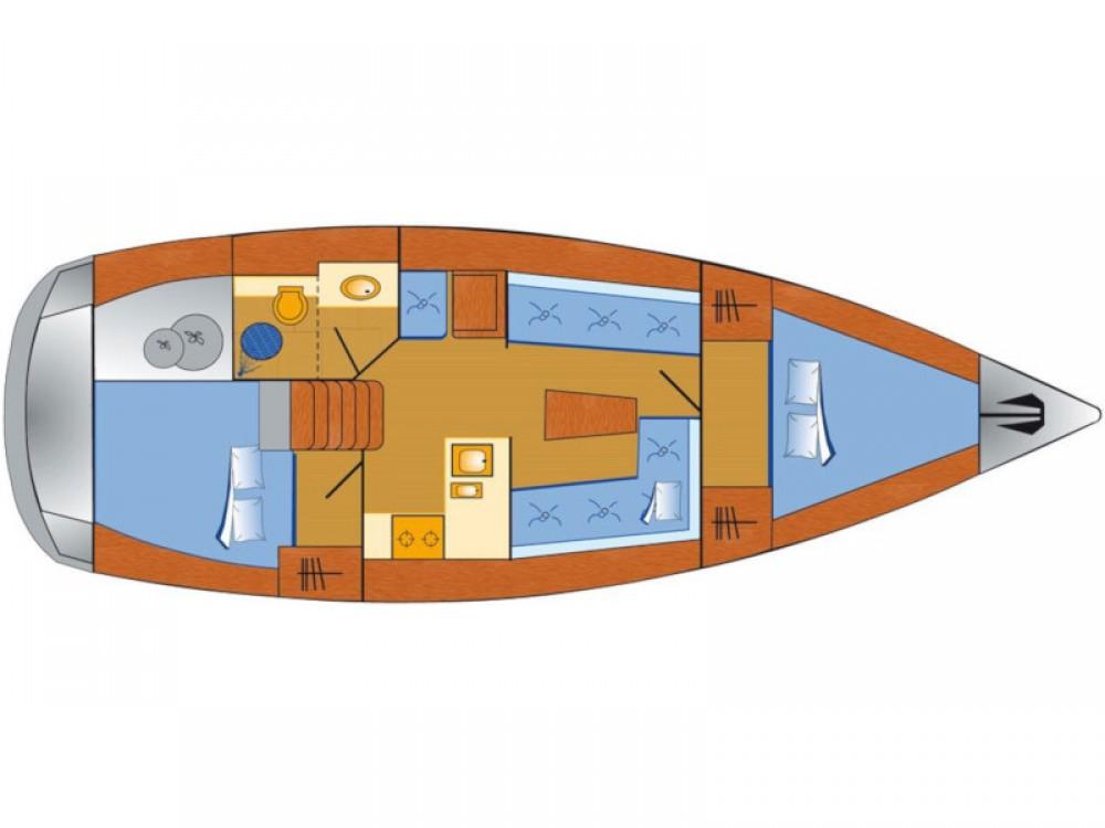 Boat rental Rogoznica cheap Bavaria Cruiser 37 - 2 cab
