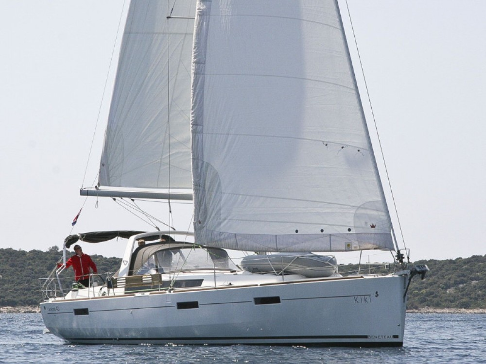 Boat rental Rogoznica cheap Oceanis 45