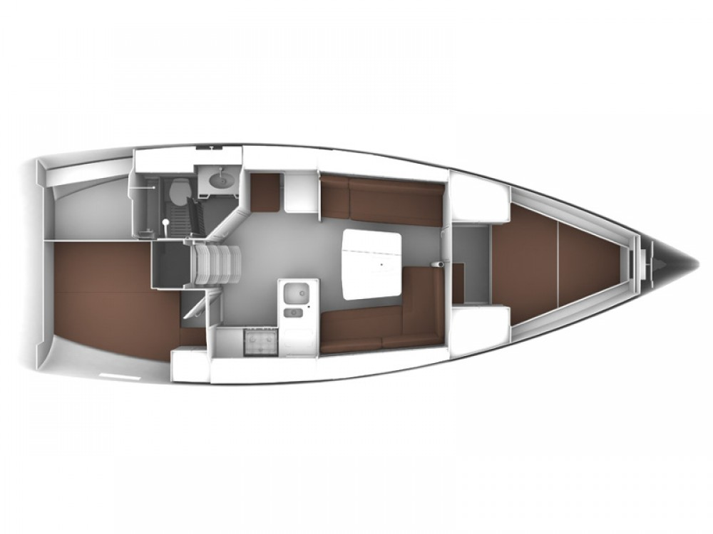Boat rental Kontokali cheap Bavaria 37 Cruiser