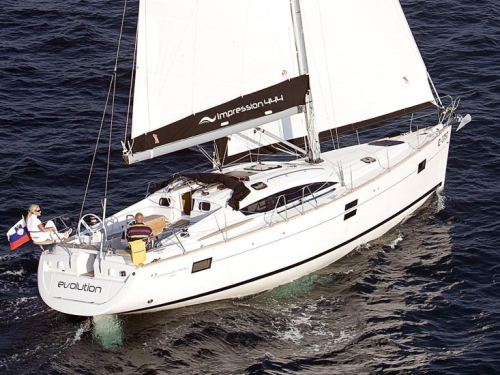 Boat rental Lefkada cheap Elan 444 Impression