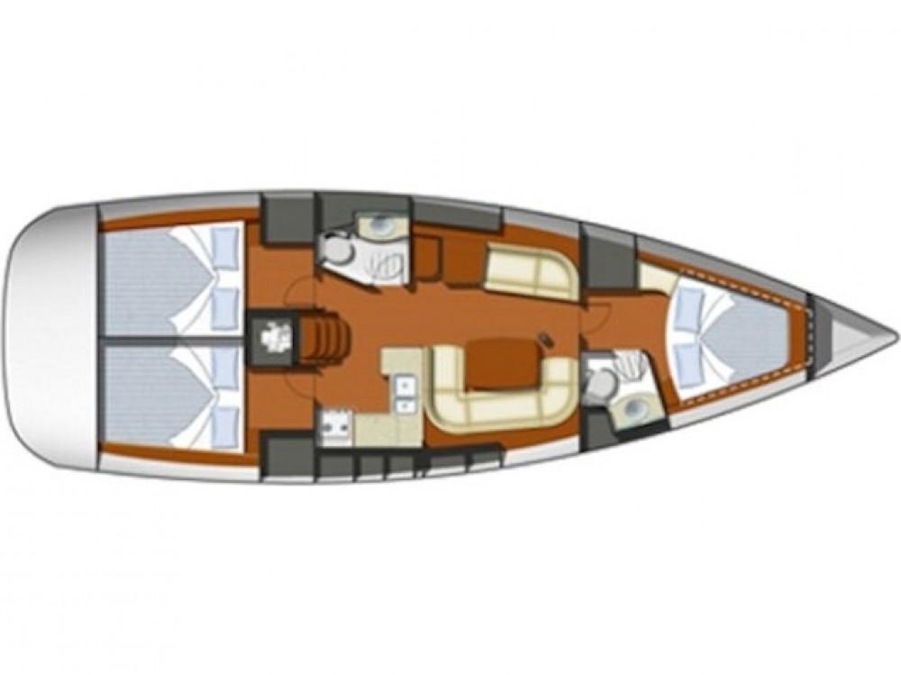 Rental Sailboat in Préveza - Jeanneau Sun Odyssey 42 i