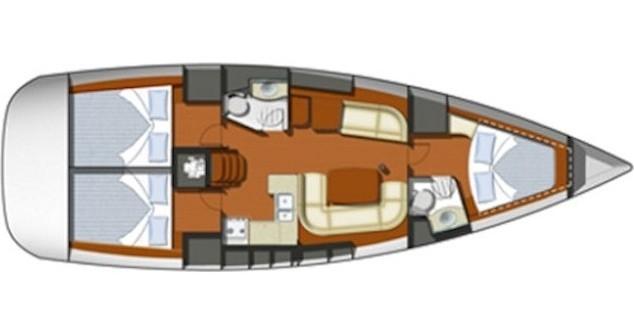 Boat rental Préveza cheap Sun Odyssey 42i