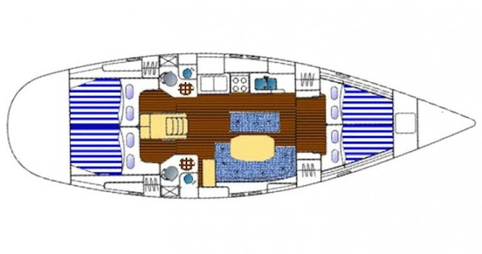 Rental Sailboat in Préveza - Bénéteau Oceanis 461