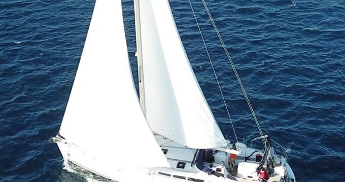 Boat rental Lávrio cheap Sun Odyssey 49i