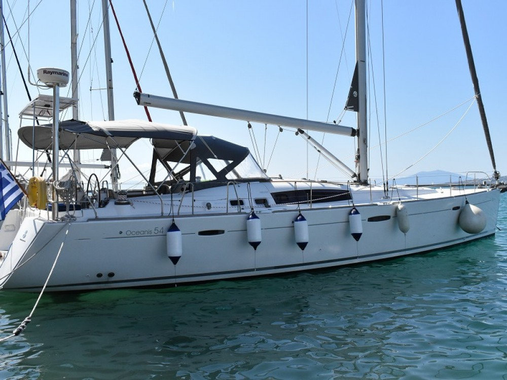 Boat rental Volos Municipality cheap Oceanis 54
