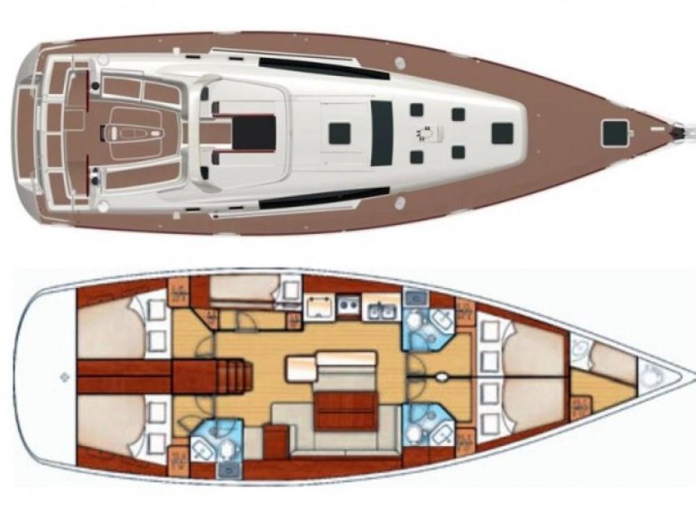 Boat rental Bénéteau Oceanis 50 Family in Kontokali on Samboat