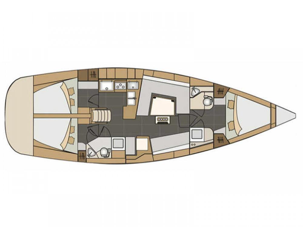 Boat rental Port de Pollença cheap Elan 45 impression