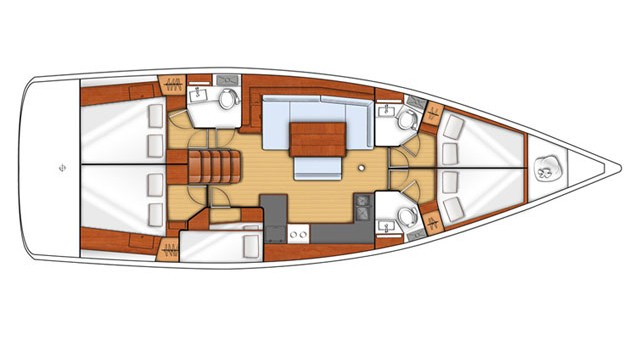 Boat rental Bénéteau Oceanis 48 in Kos on Samboat