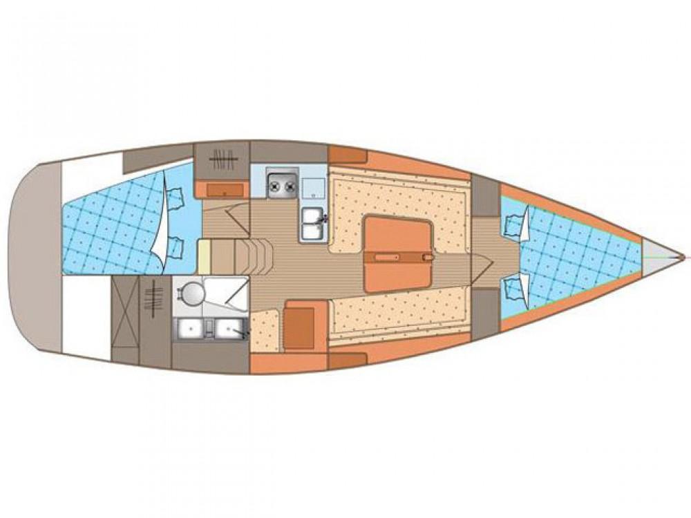 Rental Sailboat in Alimos Marina - Elan Elan 340