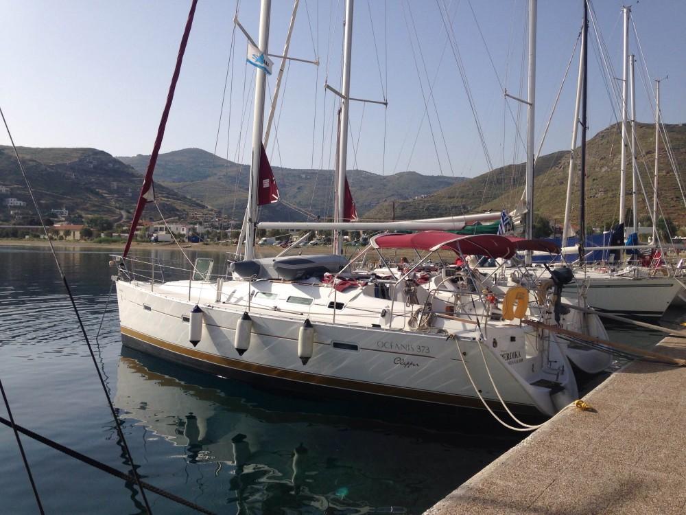 Boat rental Alimos Marina cheap Oceanis 373 Clipper