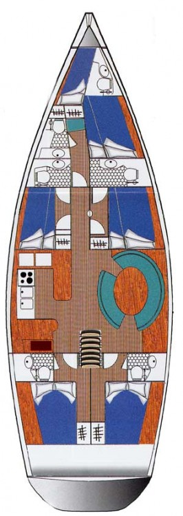 Boat rental Ocean Ocean Star 56.1 - 5 cabins in Lefkada on Samboat