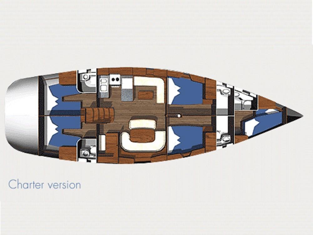 Ocean Ocean Star 56.1 - 5 cabins between personal and professional Lefkada