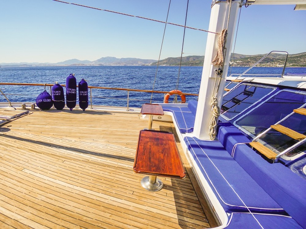 Gulet between personal and professional Bodrum