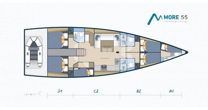 Rental yacht Kaštel Gomilica - More Boats More 55 on SamBoat