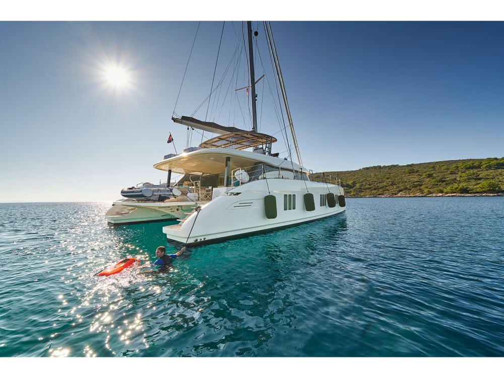 Boat rental Kaštel Gomilica cheap Sunreef 60