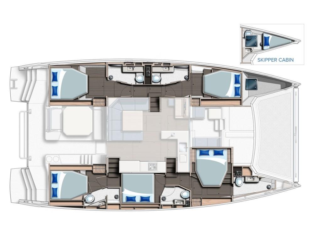 Hire Catamaran with or without skipper Leopard Marina Kaštela