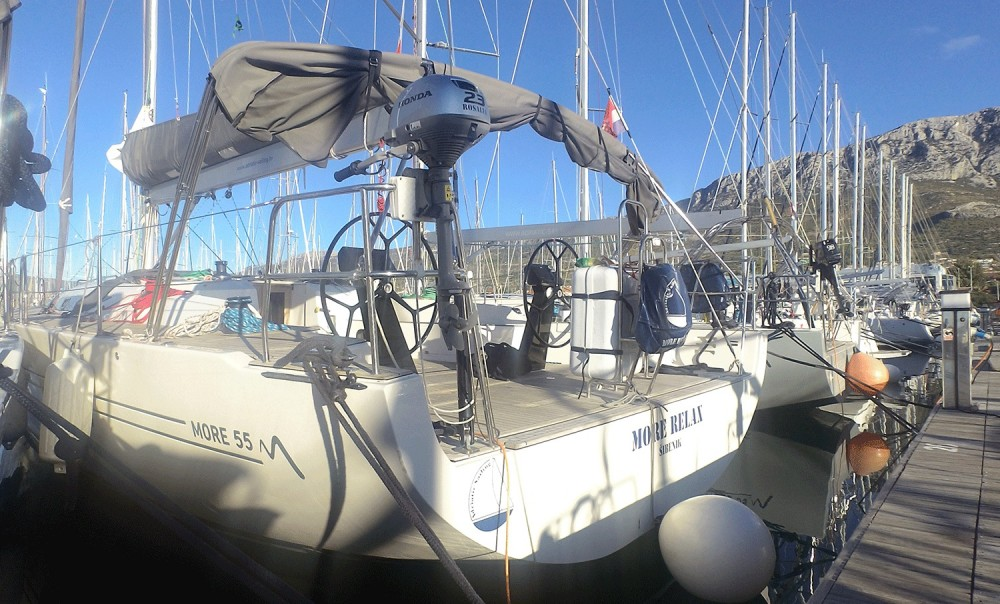Hire Sailboat with or without skipper More Marina Kaštela