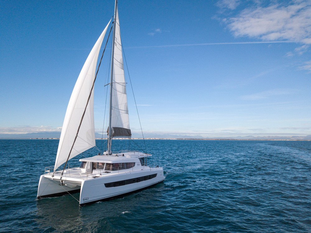 Hire Catamaran with or without skipper Bali Marina Kaštela