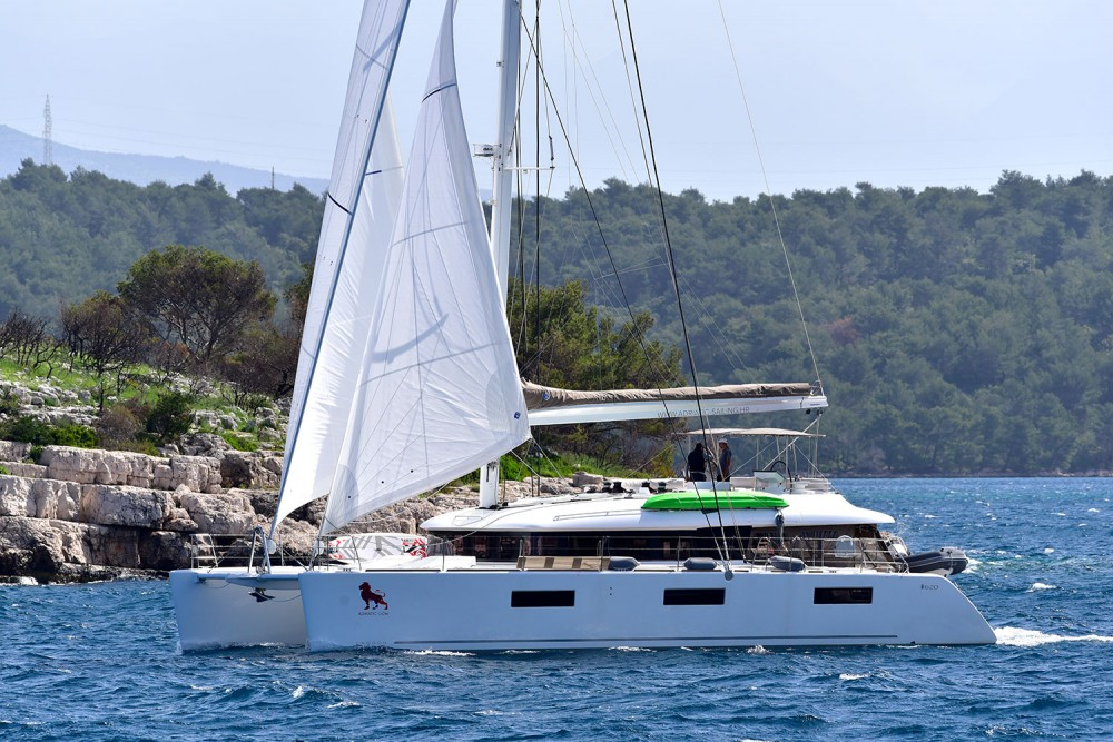 Hire Catamaran with or without skipper Lagoon Marina Kaštela