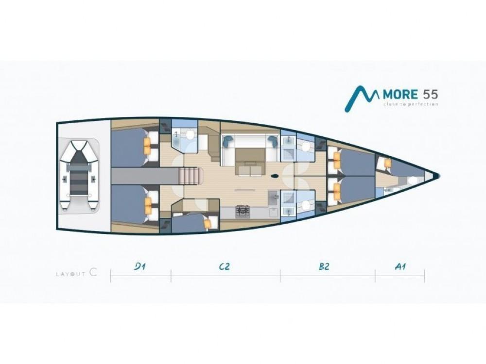 Boat rental Marina Kaštela cheap More 55