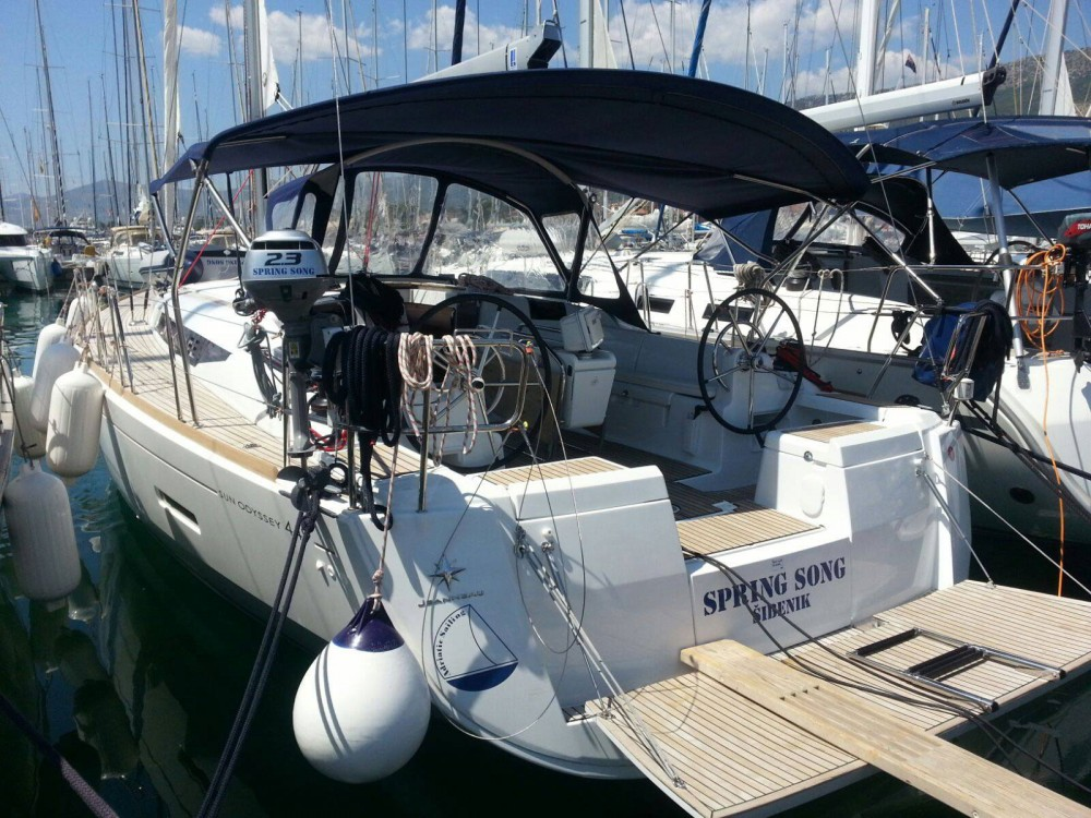 Rental Sailboat in Marina Kaštela - Jeanneau Sun Odyssey 449 owner version