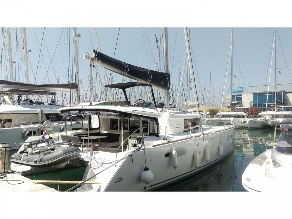 Rental Catamaran in Kaštel Gomilica - Lagoon Lagoon 450 F