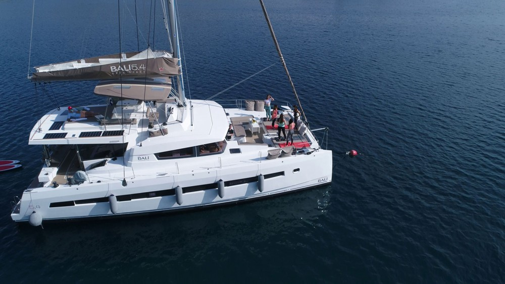 Rental Catamaran in Marina Kaštela -  Bali 5.4.