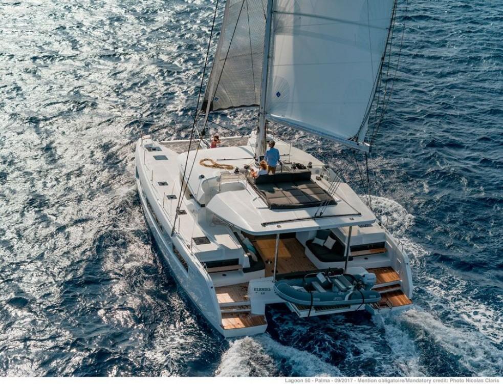 Boat rental ACI Marina Dubrovnik cheap Lagoon 50