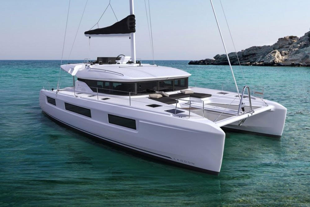 Boat rental Lagoon Lagoon 50 in ACI Marina Dubrovnik on Samboat