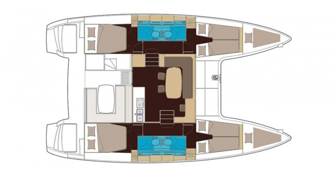 Rental Catamaran in Athens - Lagoon Lagoon 400 S2