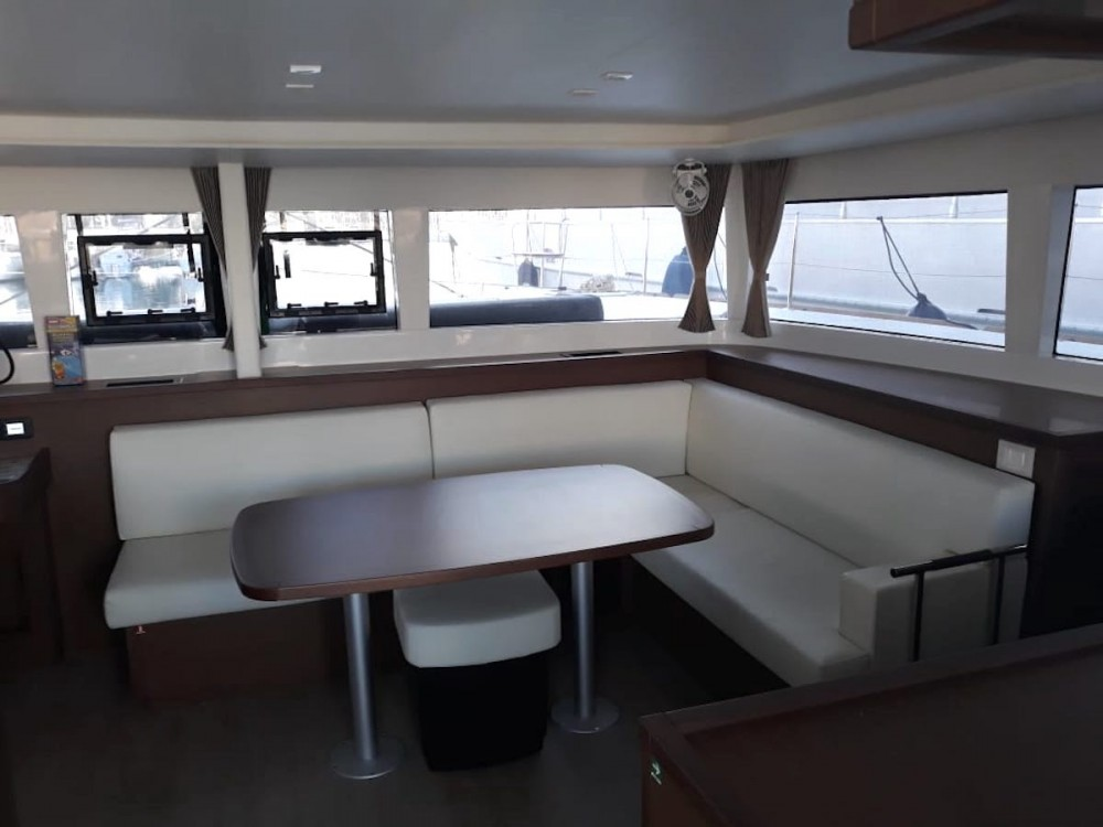 Rental yacht  - Lagoon Lagoon 450F on SamBoat
