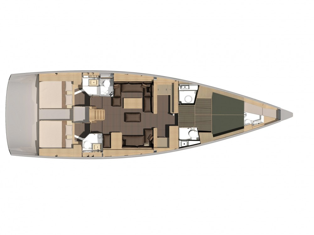 Boat rental Marina Gouvia cheap Dufour 56 Exclusive