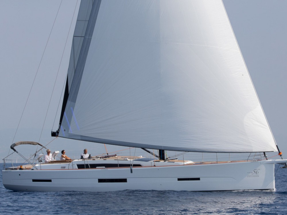 Boat rental Dufour Dufour 56 Exclusive in Marina Gouvia on Samboat