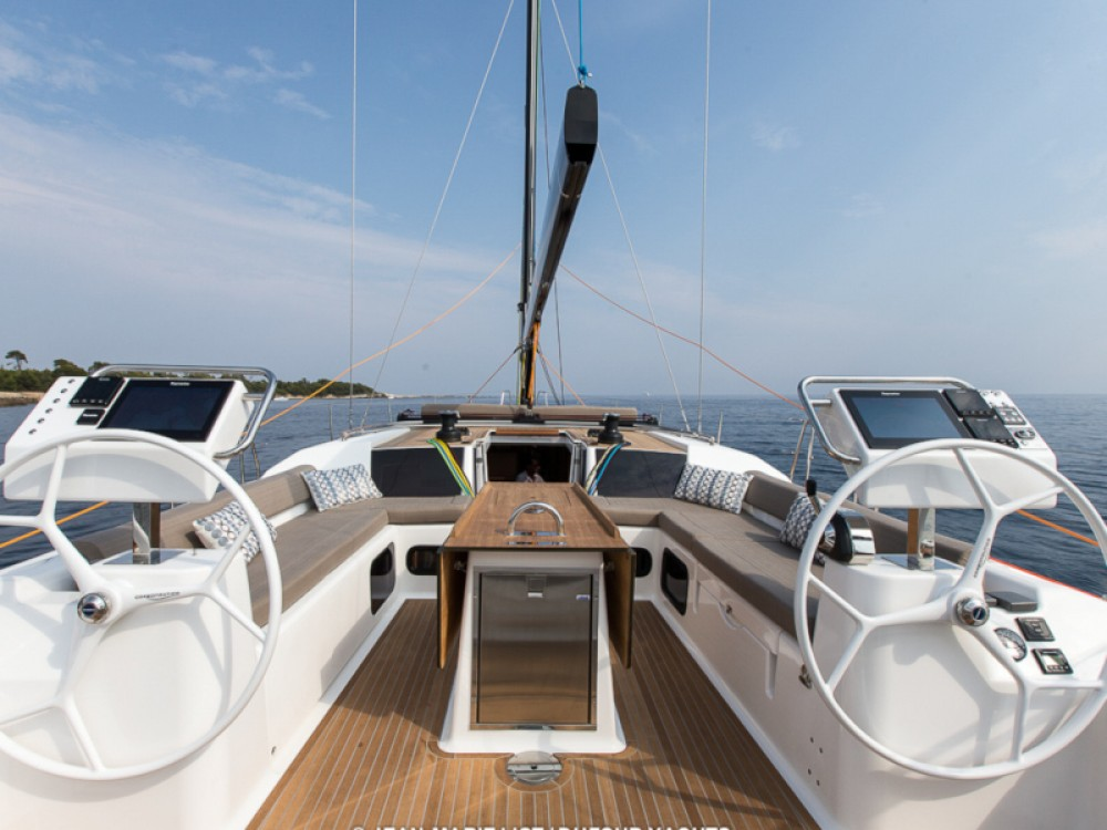 Rental yacht Marina Gouvia - Dufour Dufour 56 Exclusive on SamBoat