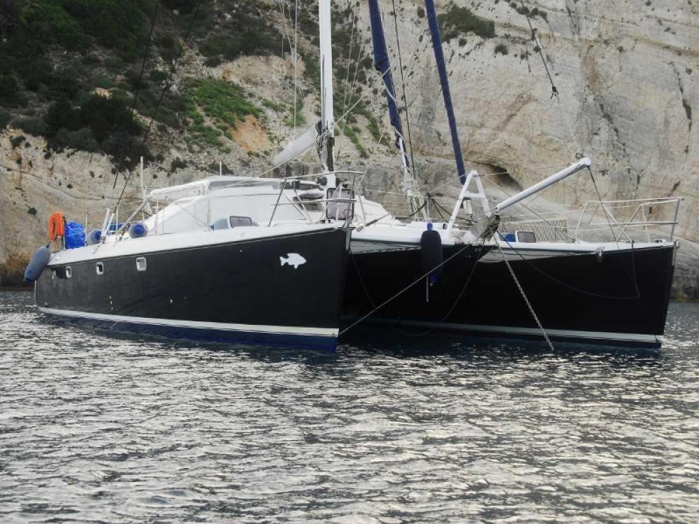 Hire Catamaran with or without skipper Alliaura Kontokali