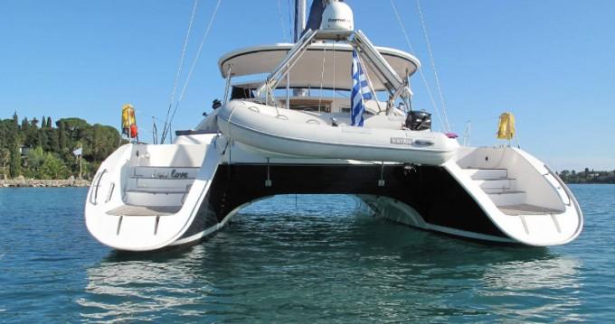 Rental Catamaran Alliaura-Marine with a permit