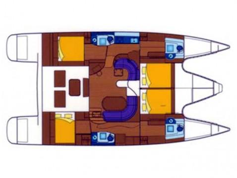Boat rental Alliaura-Marine Privilege 495 in Gouvia on Samboat