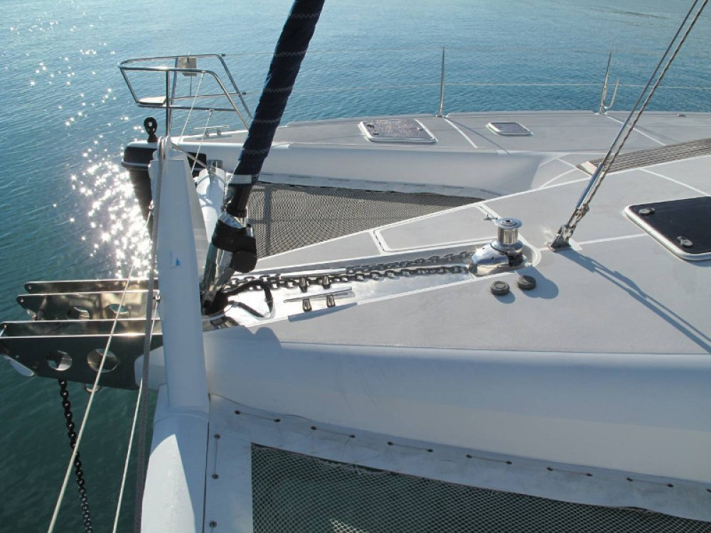 Catamaran for rent Marina Gouvia at the best price