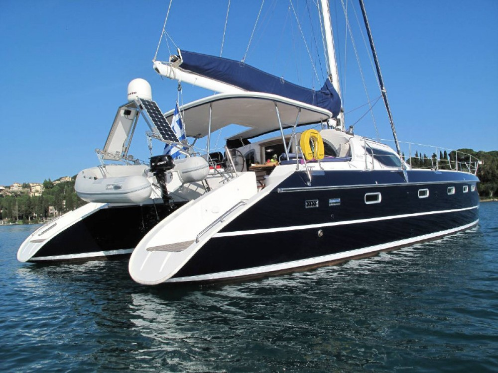 Rental yacht Marina Gouvia - Alliaura Privilege 495 on SamBoat