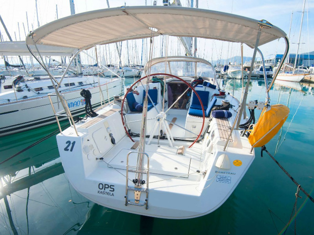 Boat rental Kaštel Gomilica cheap Beneteau First 35