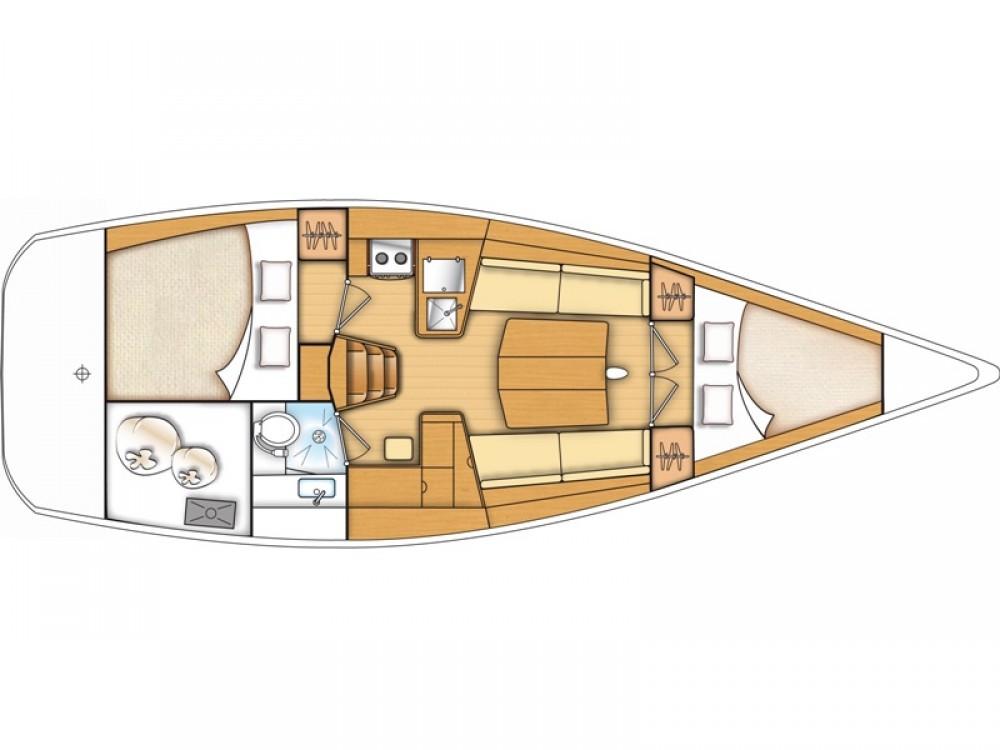 Boat rental Kaštel Gomilica cheap Beneteau First 35