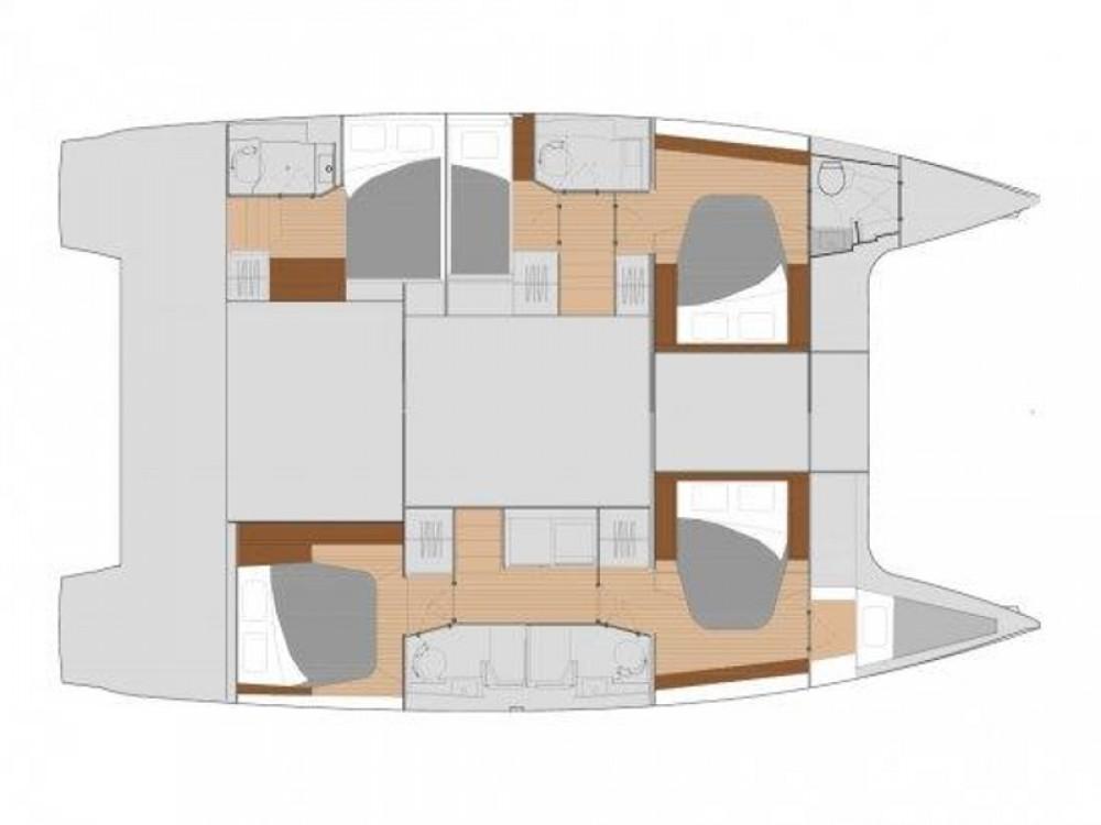 Boat rental Kaštel Gomilica cheap Fountaine Pajot Saona 47