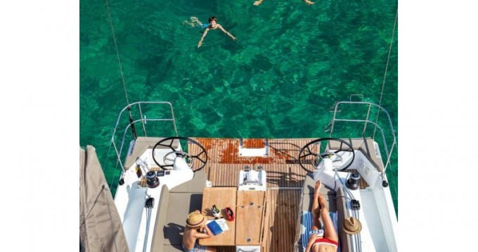 Boat rental Volos cheap Sun Odyssey 410