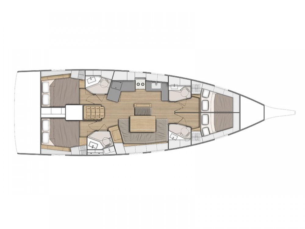 Bénéteau Oceanis 461 between personal and professional Volos