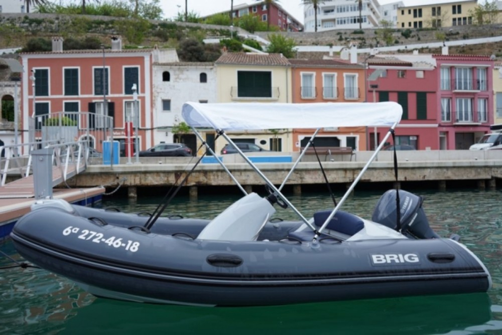 Hire Motor boat with or without skipper Brig Maó