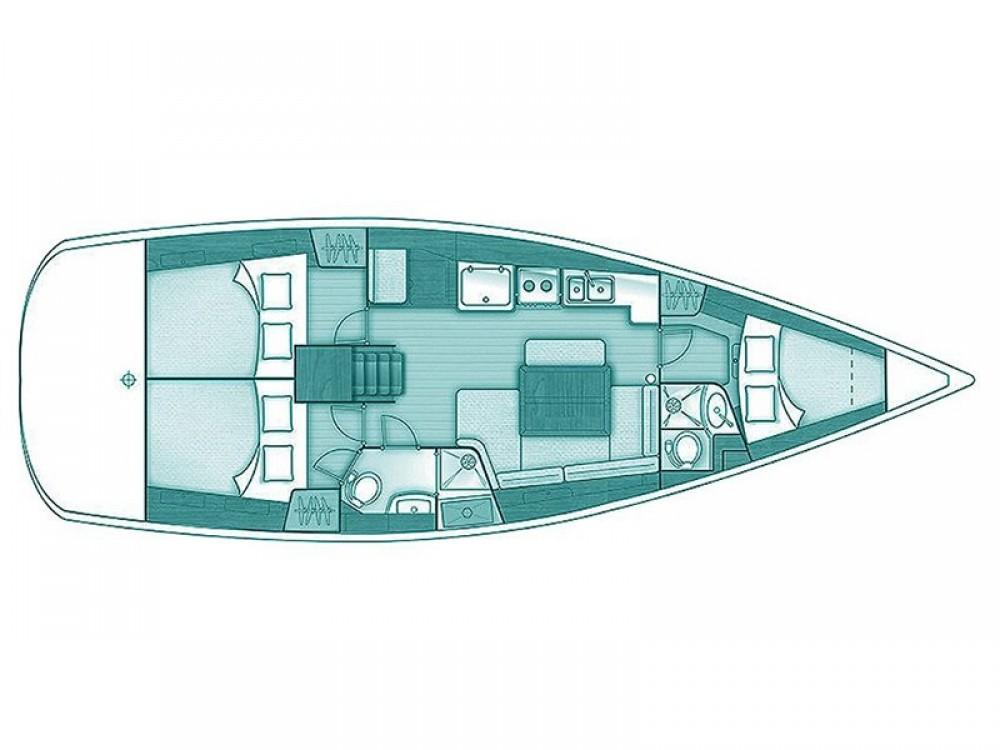Rental yacht Skópelos - Bénéteau Oceanis 40 on SamBoat