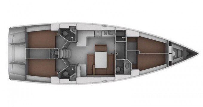 Rental Sailboat in Gouvia - Bavaria Bavaria 45 Cruiser
